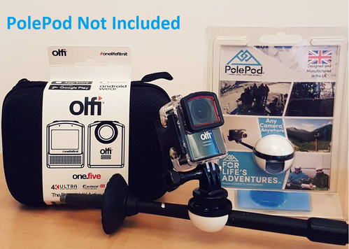 Olfi Ultra HD 4k Action Camera